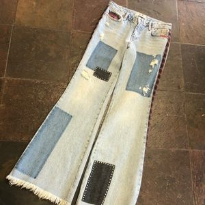 The most amazing Free People bell bottoms EVER